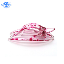 Wholesale new design professional colourful plastic alligator hair clips