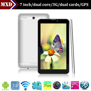 MID 7 inch Android 4.1 MTK6577 dual core built-in 3g dual SIM card tablet pc with OGS screen GPS and bluetooth