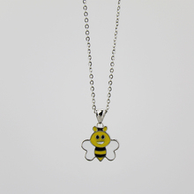 925 Sterling silver bee shape highly praised cheap custom handmade necklace