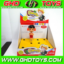 Cartoon duo friends rang hammer (can be loaded sugar) cheap small plastic candy sugar toys for sale for gift FOOD TEST