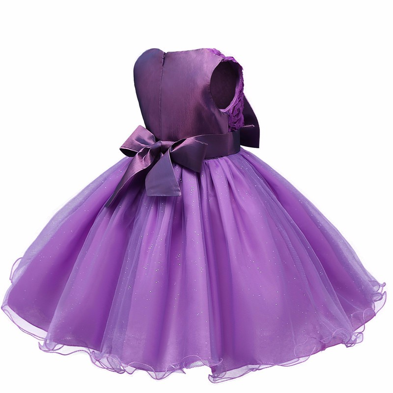 Lovely Princess Flower Summer clothing 2017 Children's Wedding Birthday Party Dresses Costume girls' Tutu Dress