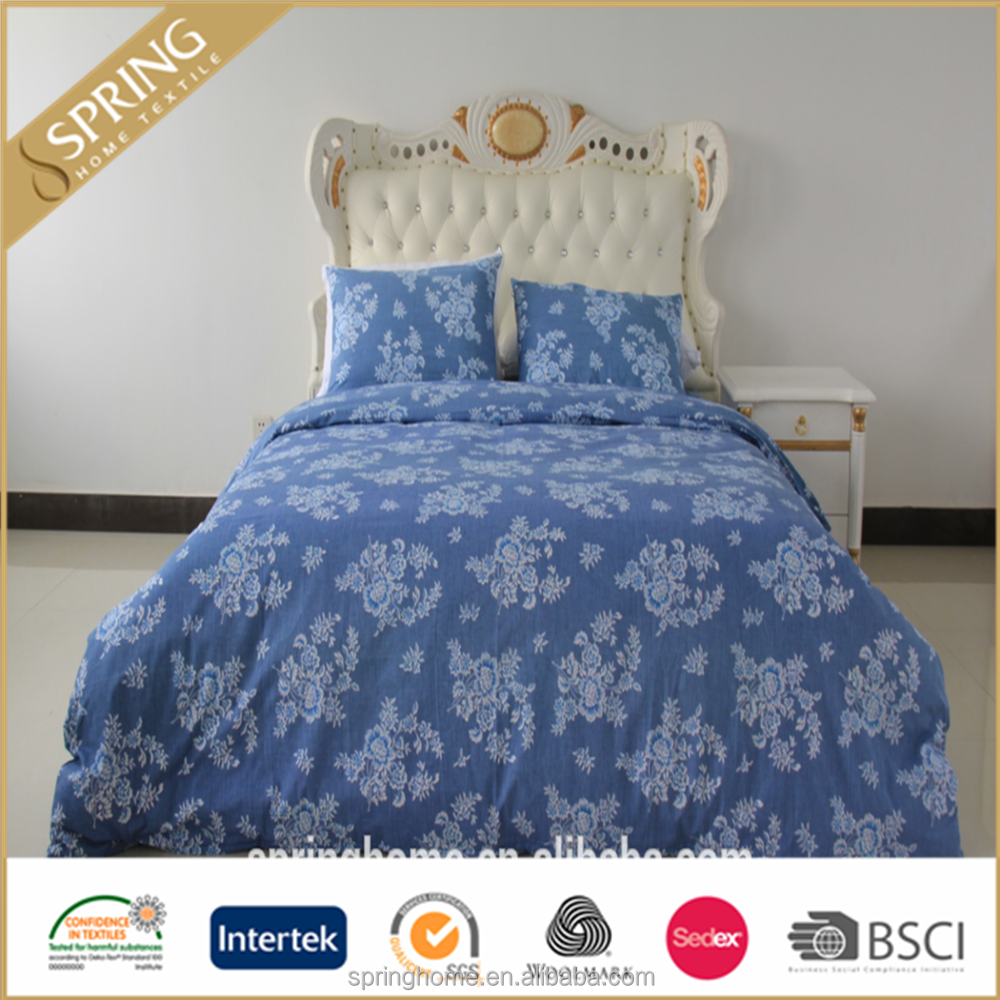 Wholesale market 100% polyester bed linen bedding sets in Queen, bed in a bag sets in Queen, bed sets- luxury in Queen