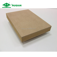 High gloss panel mdf of sheet mdf board thickness