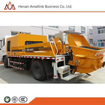 High Quality Truck-mounted Concrete Line Pump for Asian Market
