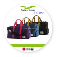 Large Capacity Travel Tote Bag With Compartment For Girls Luggage Bag