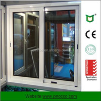 Cheap price Aluminum Sliding Windows| Aluminum Sliding window Windows with AS2047 AS2208 from PNOC factory