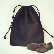 Hot Sale Eco-Friendly Blank Cotton Dust Bag Travel Drawstring Shoe Bag