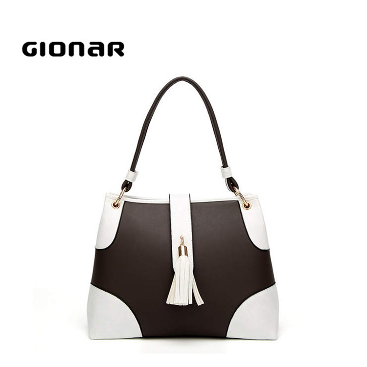 Summer newest design free embossed logo ergonomic one shoulder beautiful handbag large <strong>totes</strong> for women