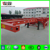 Hot 45ft Skeleton Container Chassis Trailer