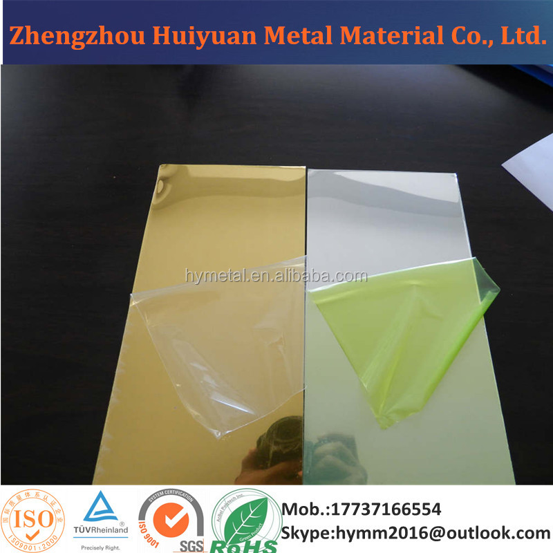 5005 h34 Mirror Anodized Aluminum Sheet for Sale