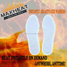 Hot Sale OEM Non-Adhesive Heated Insole Foot Warmer For Winter