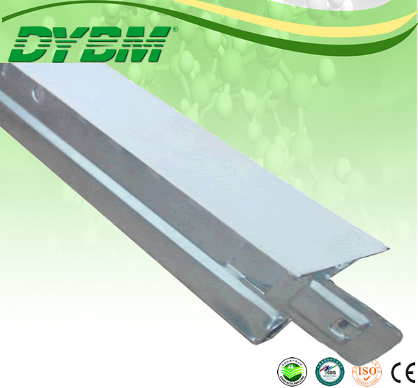 Galvanized Bar /groove Ceiling T Grid Plain White /grid Wholesale