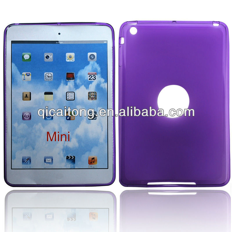 cellphone tpu pudding case for I pad mini