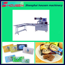 Automatic Biscuit Wafer Horizontal Pillow Flow Packing Machine Price