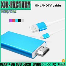 China manufacturer mhl to hdmi cable mhl adapter mhl micro usb to hdmi for iPhone hdmi