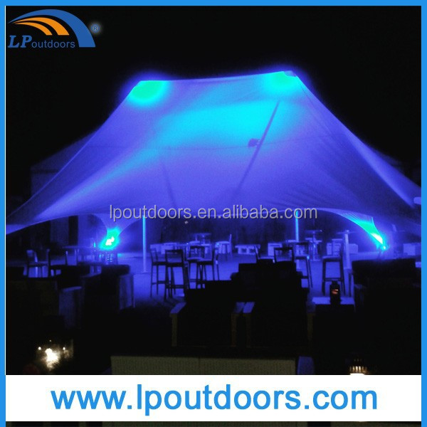 2015 New Party Tent Star Shade Outdoor Canopy for Sale