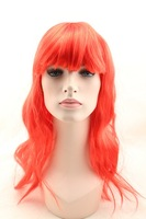 Mixed Loose Women Costume Party Cosplay long curly Synthetic Wig