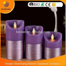 BSLD-M17 Hottest china factory direct sale colorful 7 day candles wholesale