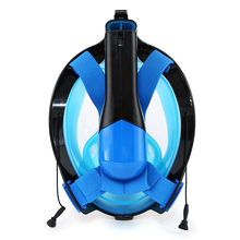 Wholesale 180 degree view snorkel mask easy breath waterproof anti leak panoramic scuba diving helmet for swimming