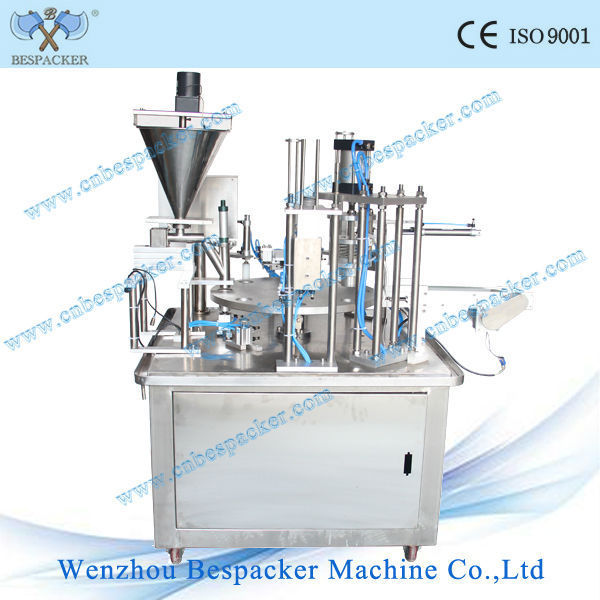 k cup small scale manufacturing machines