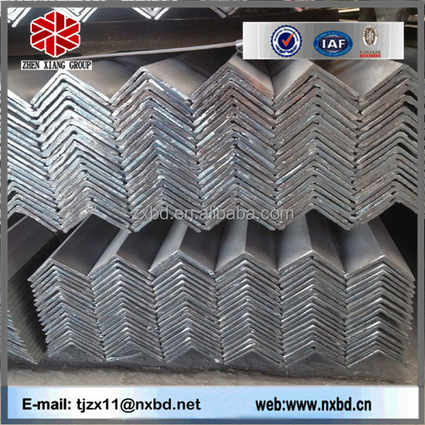 JIS SS400 mild hot rolled steel angle iron