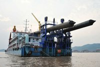 DG1115 - 3500 m3/h Trailing Suction Hopper Dredger
