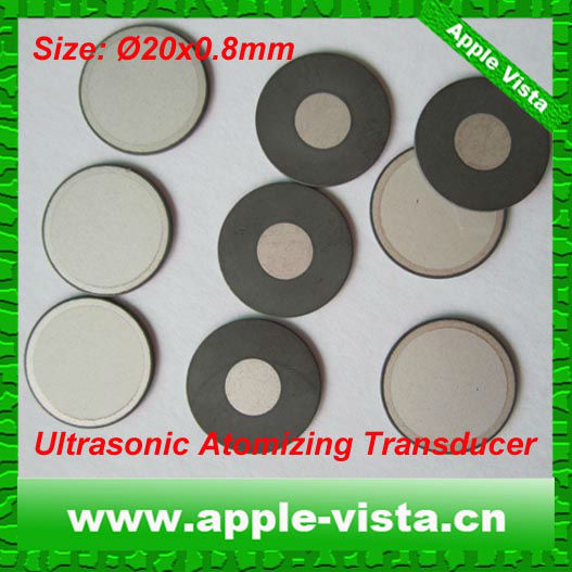 20mm Piezoelectric Ceramic Transformer for transducer vibration