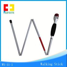 sos alarm smart cane outdoor walking stick walking stick for old people with led flashlight FM