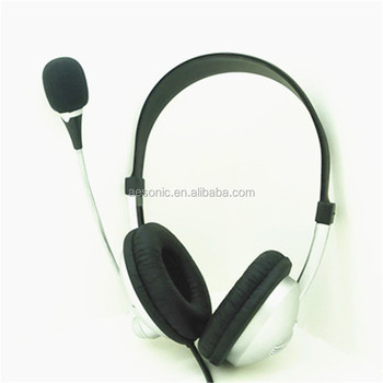 New Model Wired Headsets With Directional Microphones