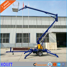 Factory price small aerial boom lifts