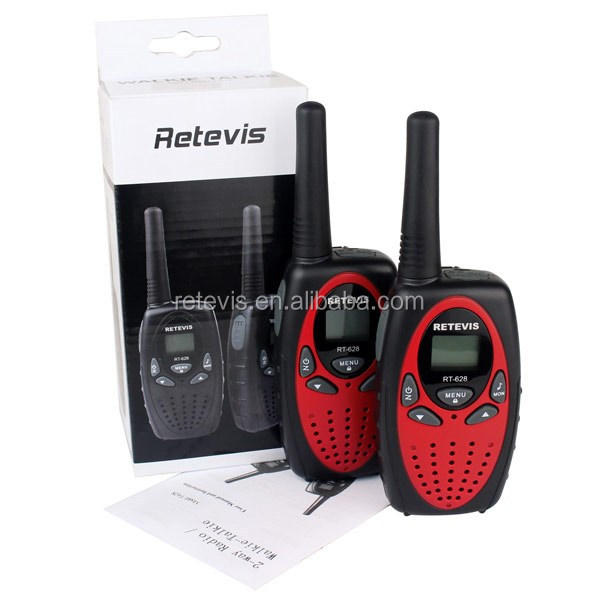 CE FCC license free little Compact Consumer two-way Radio for toys Retevis RT-628 A1026C
