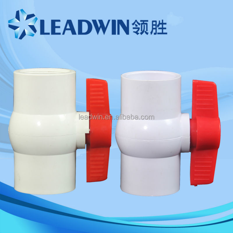 China Supplier Material Plastic Handle 2 Inch PVC Ball Valve