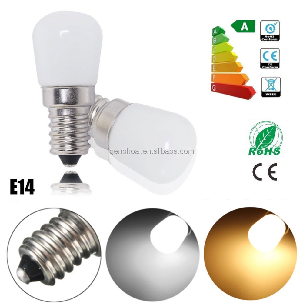 1.5W=25W LED Fridge/Freezer Appliance Light Bulb 220-240V SES E14 MINI Pygmy Lamps
