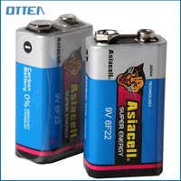 6F22 9v cell zinc manganese battery products