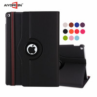 Manufactory Rotating Flip Cover Leather Case for iPad Pro for Apple Pro Tablet