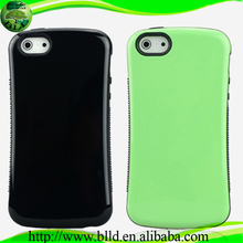 Wholesale hot selling design TPU+PC case for Iphone 5, Hard back cover case fundas para celulares for Iphne 5