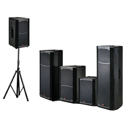 Professional audio PRX series stage speaker series