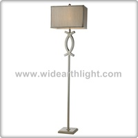 UL CUL Listed Hotel Guestroom Modern Design Nickel Double C Logo Decorative Bedroom Floor Lamps LighT F90012