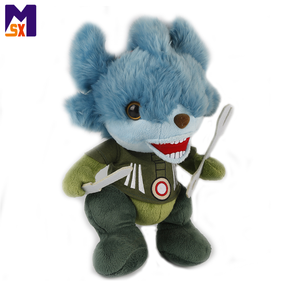 High quality cartoon plush toys character doll