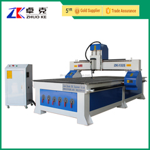 Hybrid Servo Motor 3D CNC Wood Carving Machine CNC Router 1325 With 6.0Kw HSD Air Cooling Spindle Mach3 Control Vacuum Table