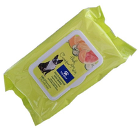 dog paw cleaning wet wipes 100ct