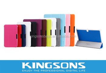 "Multicolor PU Case For Samsung 7"" CALAXY Tab3 Lite 7.0 T110,8.4"" And 10.1"" Sizes Available"