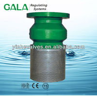stainless steel screen foot valve