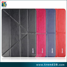 high quality samrt leather cases for ipad 5 air