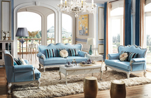 European Classical Fabric Living Room Furniture Sofa