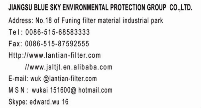 PPS Dust Filter Bag for Air Filter
