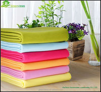 Double Ply Plain Dyed Polar Fleece Blanket China manufacturer polyester super soft plain kids blanket fleece fabric GVGZ0009