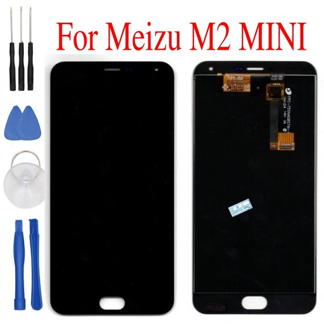 Tested Meizu M2 mini LCD Display 5.0inch/meizu m2 note5.5inch + Touch Screen + Tools  HD Digitizer Assembly Replacement