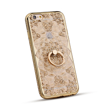 Bling Crystal Luxury Electroplating Diamond Bling Rhinestone Case for iPhone 5