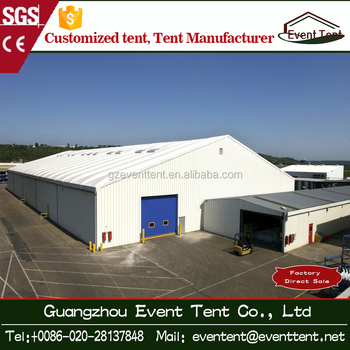 20*40m aluminum frame tent for industrial warehouse in Europe